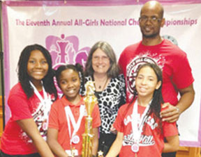 CASTLE HILL 1 BCPS Castle Hill Elementary all girls team nationally ranked No. 2 in chess