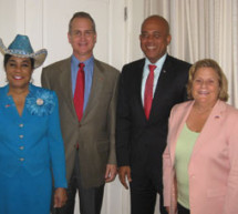 Congresswoman Frederica S. Wilson travels to Haiti