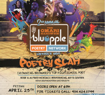 Jason Taylor Foundation to crown Broward's top youth poet District-Wide Poetry Slam