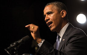 OBAMA Obama says Civil Rights Movement opened door for his election