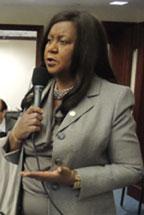 Rep Representative Barbara Watson opposes Educational Choice Bill for its failing grade