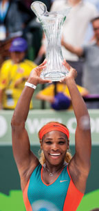 Serena Williams (Photo credit Aaron Gilbert)