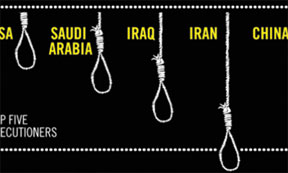 TopFiveExecutioners America, China and Saudi Arabia among the few remaining countries that executed anyone in 2013