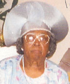 Funeral services for the late Sister Mamie Williams –