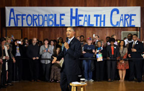 President Obama Afforable H Long wait times; doctors excluded from new healthcare networks just some of the problems plaguing Affordable Care Act
