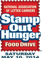 'Stamp Out Hunger' Letter Carriers food drive