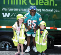 Waste Management donates to local Broward County schools