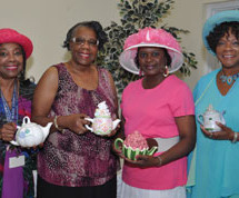 """More than 50 Pompano Beach residents attended the 4th Annual Mother's Day Tea"