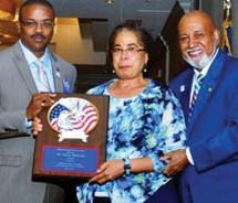 Board member earns 'Mildred Hastings Tenacity Award'