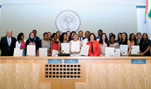 Miami Bayside awards 26 Scholarships at Miami City Council meeting