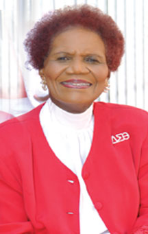 Ms Orrthis one Delta Sigma Theta Sorority, Inc., honors  Dr. Dorothy Jackson Orr