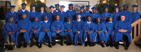 YATC1 Graduates of the Youth Automotive Training Center celebrate during 35th commencement ceremony
