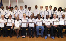 The Fort Lauderdale Police Department held its first Community Police Forum Graduation Class 2014