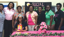 Chi Psi Omega Chapters partner with Department of Juvenile Justice