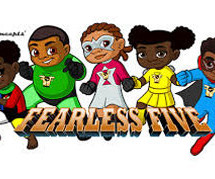 HNK Concepts announces addition of new E-book offering for child superhero team, the Fearless Five