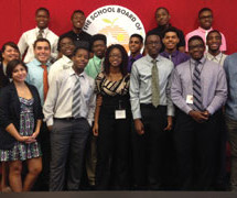 Mentoring Tomorrow's Leaders Interns participate in Superintendent's Summer Program