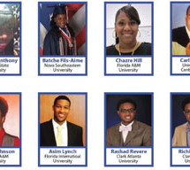 Congresswoman Frederica S. Wilson congratulates recipients of the 2014 Congressional Black Caucus Foundation (CBCF) Scholarship