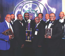 Eta Nu Chapter of Omega Psi Phi Fraternity, Inc. wins multiple awards at the Florida Statewide Organization meeting