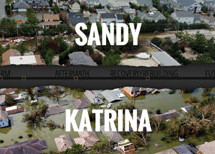 Hurricanes Katrina and Sandy: Disaster inequality