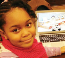 This little girl goes to school six days a week and created a mobile app