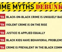 Blacks commit less crimes than whites think