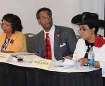 Rep. Frederica Wilson hosts green impact zone initiative workshop