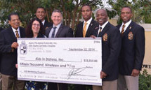 ALPHAS DONATE OVER $15,000 TO KIDS IN DISTRESS