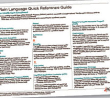 Plain language reference guide available to assist HIV service organizations in health insurance enrollment efforts