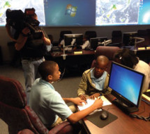 North Fork Elementary School students confront hurricane Elisa during Broward EOC simulation