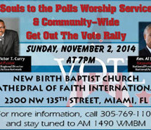 Souls to the Polls Worship Service and Community-wide Get Out The Vote Rally