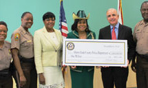Congresswoman Frederica S. Wilson presents $1,000,000 Crime Fighting Grant to the Miami-Dade County Police Department