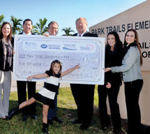 HCA Hospitals of Broward County donate $5,000 to Park Trails Elementary PTA