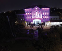Lauderhill City Hall brings a month of Breast Cancer Awareness to a close
