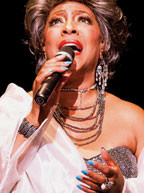 Mary Wilson of the Supremes lends her powerful vocals to James Gavin's Stormy Weather: The Music of Lena Horne  at Aventura Arts & Cultural Center