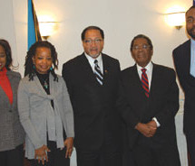 NNPA MEETING WITH BAHAMAS AMBASSADOR TO THE US