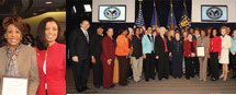 Veterans Affairs honors waters for commitment to women's veterans