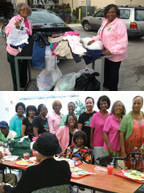 Alpha Kappa Alpha Sorority, Incorporated – Zeta Rho Omega Chapter's  Global  Poverty Committee's  timeless service  'around the clock'