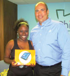 AT&T surprises 25 Foster Care students with Samsung Tablets
