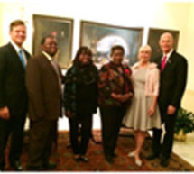 Governor Scott holds a majestic M.L. King event at the mansion