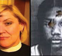 Clergy take photos to replace photos of Black men police used for target practice