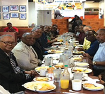 BFF's enjoy breakfast together every Wednesday, rain or shine