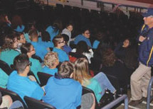 Dr. Ballard Shared Love of the Sea with Students at BB&T Center