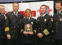 Fort Lauderdale's Assistant Fire Marshal receives top honors