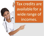 In Florida consumers qualify for an average tax credit of $297 per month through the Health Insurance Marketplaces