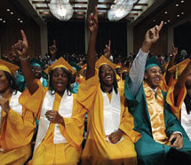 Blacks now finishing high school at record levels