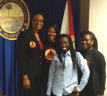 Boyd Anderson High School student leaders