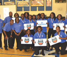 Dillard High School Girls' basketball team ranked #1 nationally