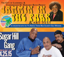Jammin in the Park & Art Fest with Special Guest Sugar Hill Gang
