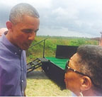 Meeting President Obama in the 'Glades reaffirms faith in God