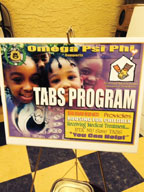 Special RMHC Tabs collection container at Westside Gazette